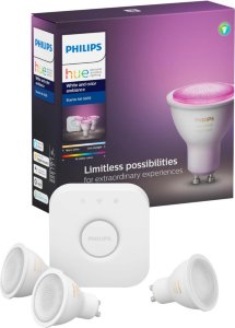 Philips Hue White and Color Ambiance GU10 Bluetooth Startpakke