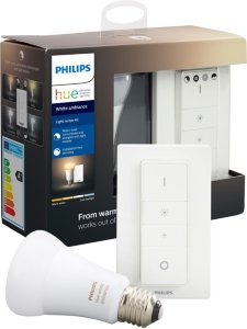Philips Hue White Ambiance E27 Bluetooth med dimmer