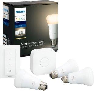 Philips Hue White E27 BT 806lm Startpakke med dimmer