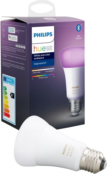 Philips Hue White and Color Ambiance E27 Bluetooth