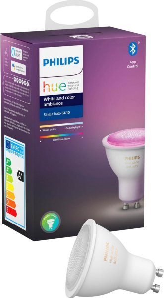 Philips Hue White and Color Ambiance GU10 BT