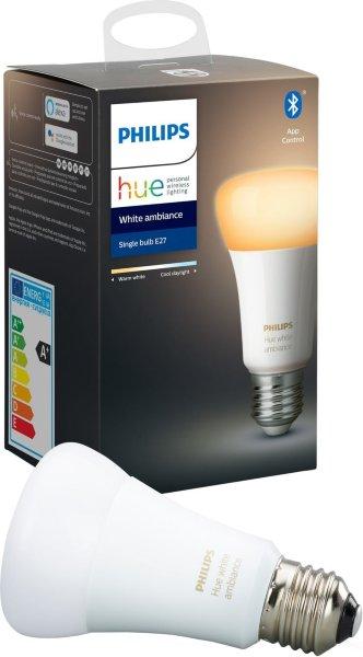 Philips Hue White Ambiance E27 Bluetooth
