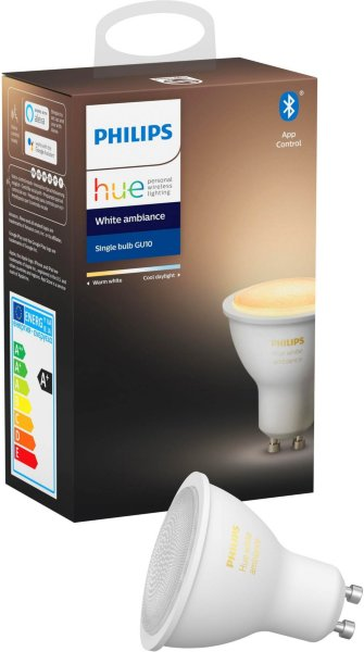 Philips Hue White Ambiance GU10 Bluetooth