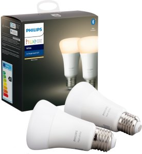 Philips Hue White E27 Bluetooth 2-pack