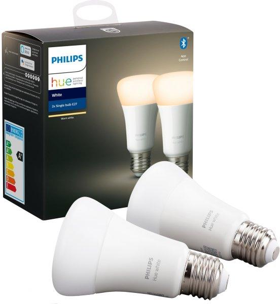 Philips Hue White E27 Bluetooth 806lm 2-pack