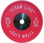 Titan Fitness Elite Bumper Plate 25 kg