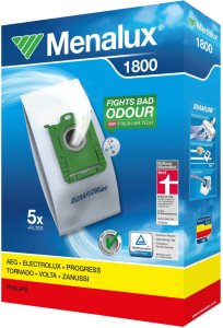 Menalux Støvsugerpose Syntet 1800 5 stk + filter