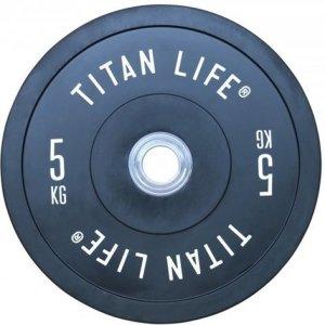 Titan Fitness Elite Bumper Plate 5 kg
