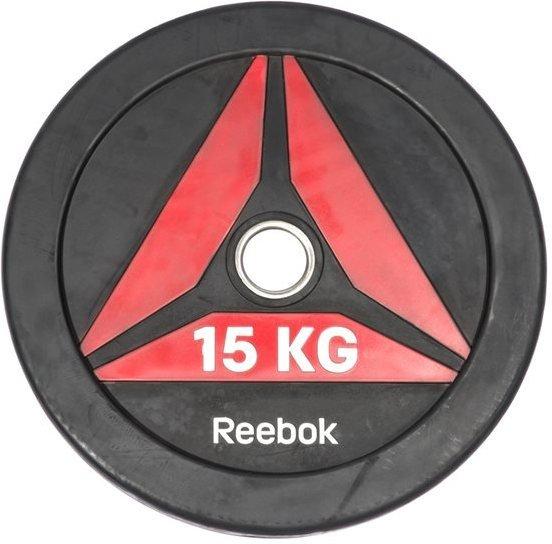 Reebok Delta Bumper Plate 15 kg