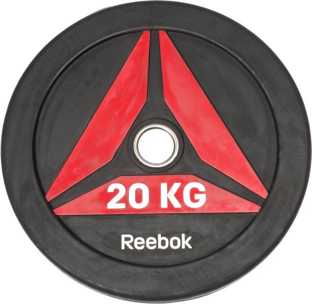 Reebok Delta Bumper Plate 20 kg