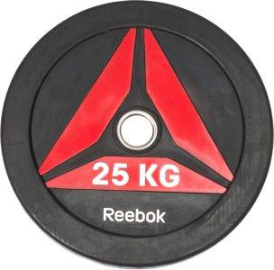 Reebok Delta Bumper Plate 25 kg