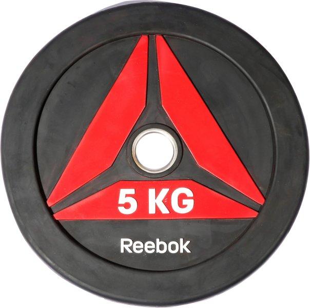 Reebok Delta Bumper Plate 5 kg
