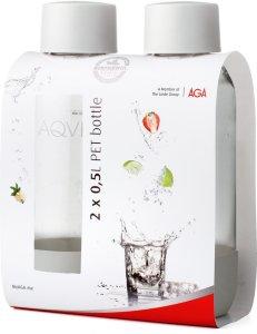 Aqvia PET-flaske 0,5L  2 stk