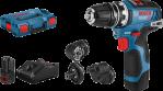 Bosch GSR 12V-35 FC (2x3,0Ah)