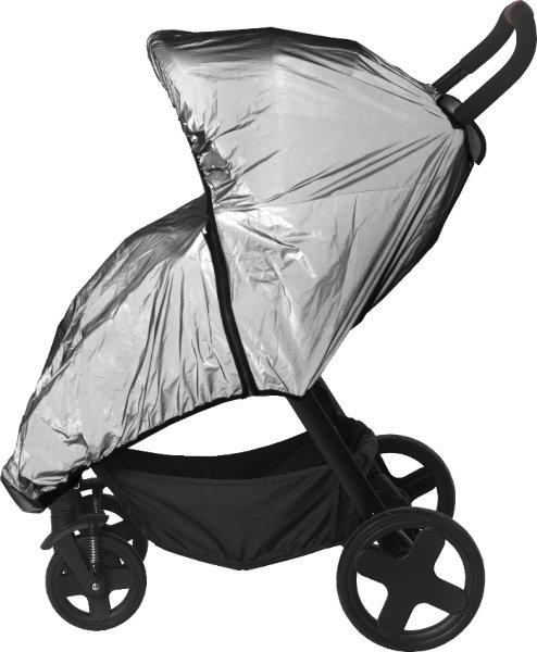 Titanium Baby refleksregntrekk trille