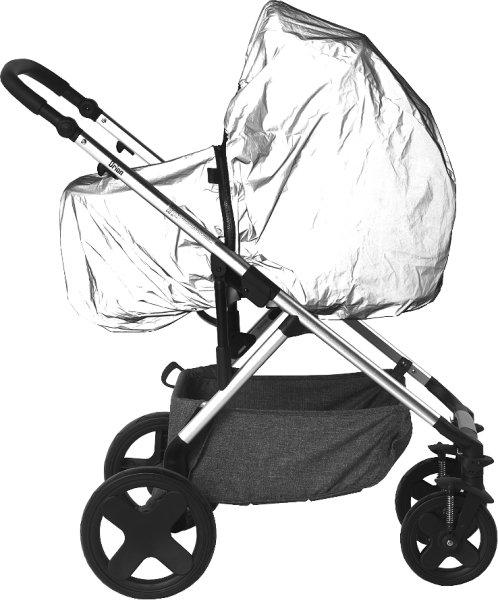 Titanium Baby refleksregntrekk pram