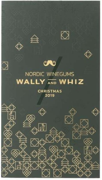 Nordic Winegums Wally and Whiz vingummi adventskalender