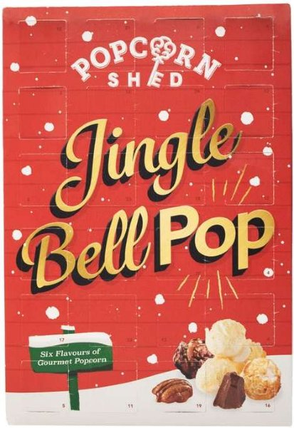 Popcorn Shed Jingle Bell Pop popkornkalender