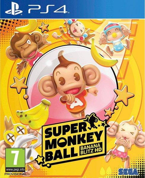 Super Monkey Ball: Banana Blitz HD til Playstation 4