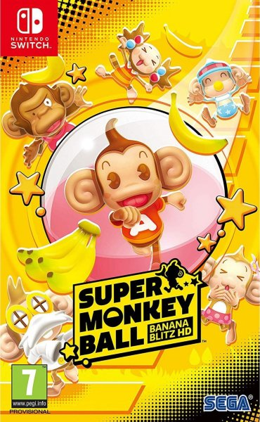 Super Monkey Ball: Banana Blitz HD til Switch