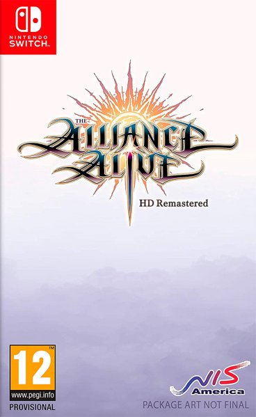 The Alliance Alive HD Remastered til Switch