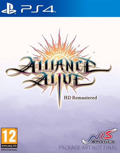 The Alliance Alive HD Remastered til Playstation 4