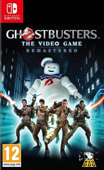Ghostbusters: The Game Remastered til Switch