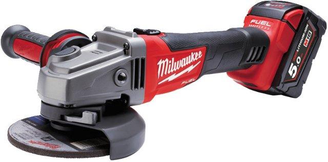 Milwaukee M18 CAG 115X-502X (2x5,0Ah)