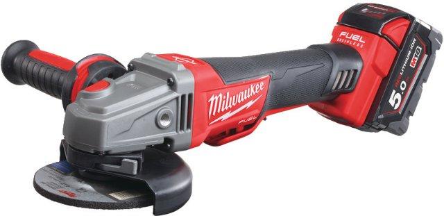 Milwaukee M18 CAG 115XPDB-502X (2x5,0Ah)