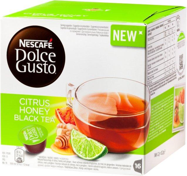 Nescafe Dolce Gusto Citrus Honey Black Tea
