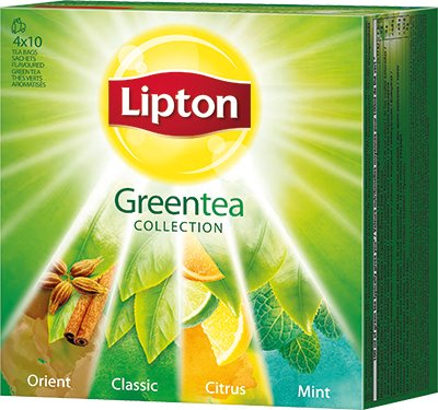 Lipton Green Tea Collection 40 stk