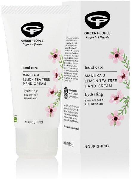 Green People Manuka & Lemon Tea Tree Hand Cream