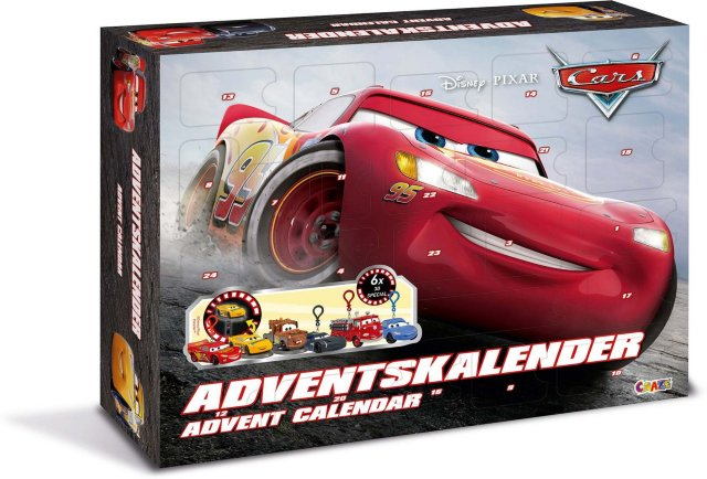 Disney Cars Adventskalender