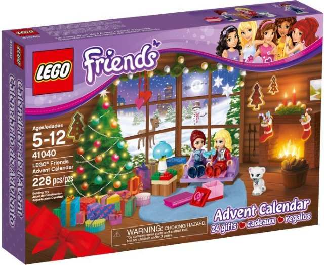 LEGO Friends 41040 adventskalender