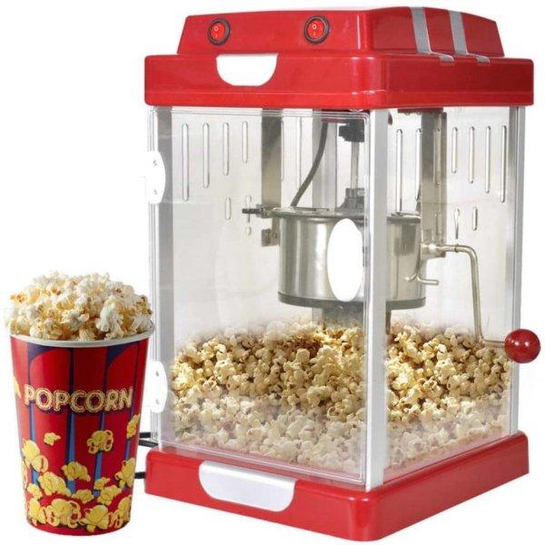 VidaXL Popcornmaskin kinostil