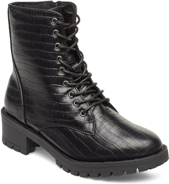 Bianco Biaclaire Laced-Up Boot