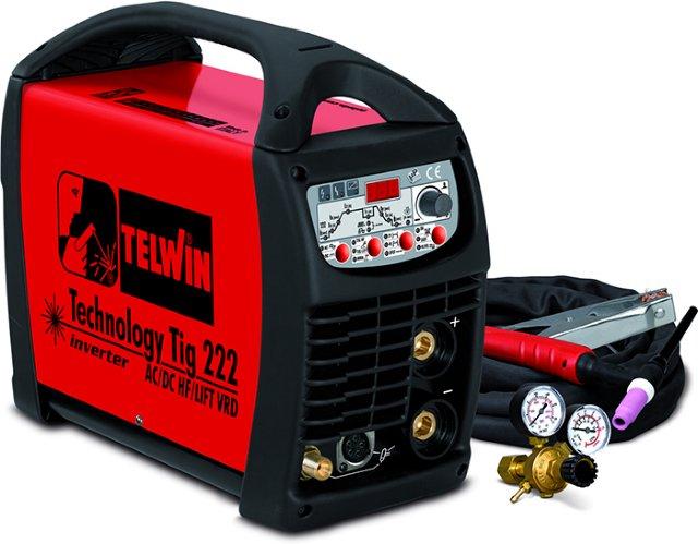 Telwin Technology Tig 222 AC/DC-HF/LIFT VRD