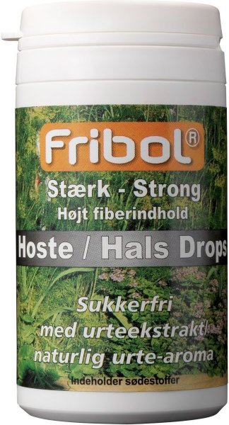 Fribol Sterk Hoste / Hals Drops 60 g