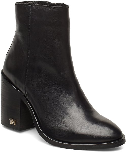 Tommy Hilfiger Mono Color Heeled Boot