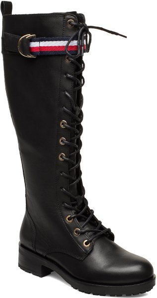 Tommy Hilfiger Corporate Ribbon Long Boot