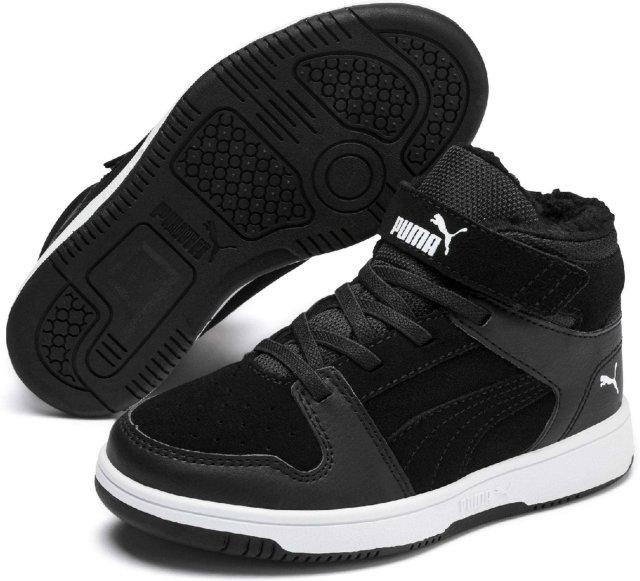 Puma Rebound Layup Fur Sneakers (Barn/junior)