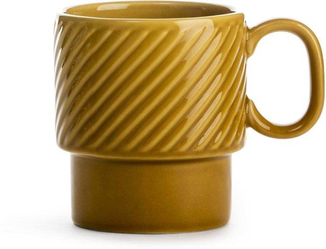 Sagaform Coffee & More kaffekopp gul 25cl
