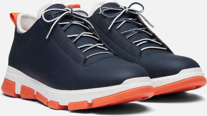 Navy/White/Orange City Hiker Low Footwear  SWIMS  Sneakers - Sko Til Herre