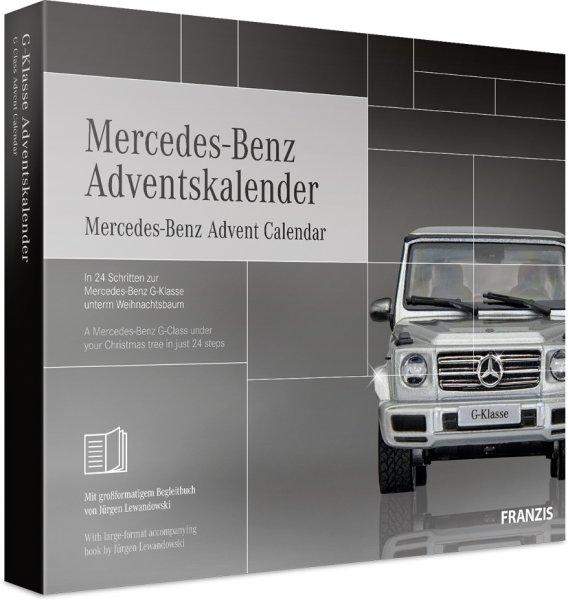 Franzis Mercedes-Benz G-Class adventskalender