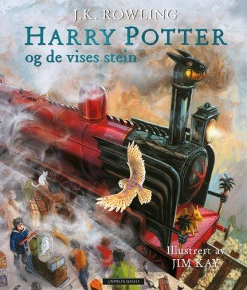 Cappelen Damm Harry Potter og De vises stein