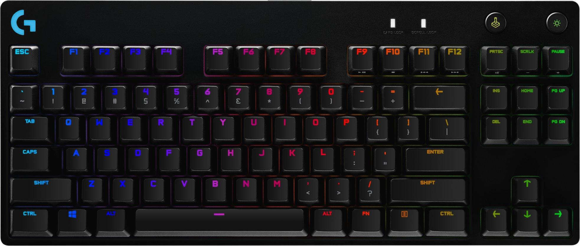 Best pris på Logitech G Pro Gaming Tastatur Se priser før kjøp