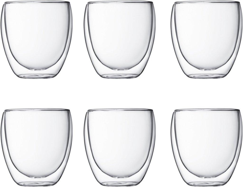 Bodum Pavina glass 25cl 6 stk