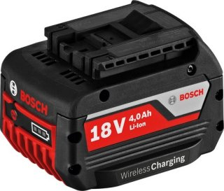 Bosch GBA 18 V 4,0 Ah MW-C Wireless Charging Professional