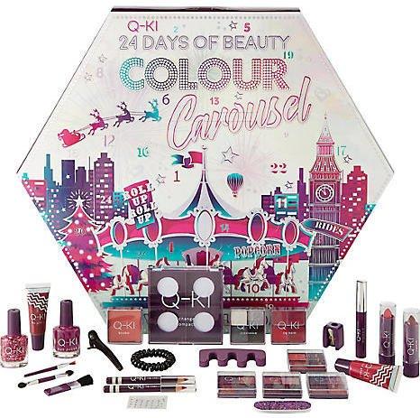 Q-KI 24 Days Of Beauty Colour Carousel adventskalender