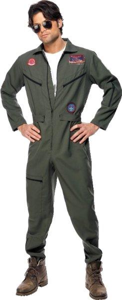 Smiffys Top Gun kostyme